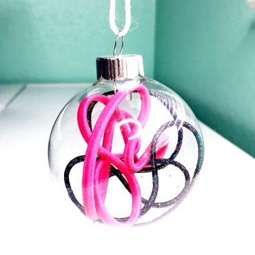ornaments with hair accessories inside