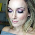 Hints of Gold Holiday Makeup Look 2014