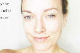 tips on brightening your under eyes