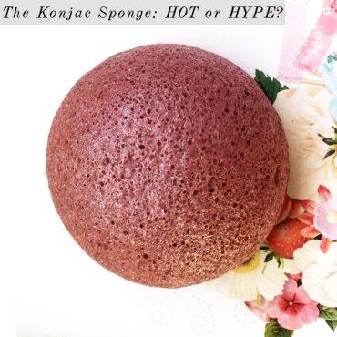 how does the konjac sponge work