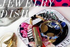 diy jewelry plate