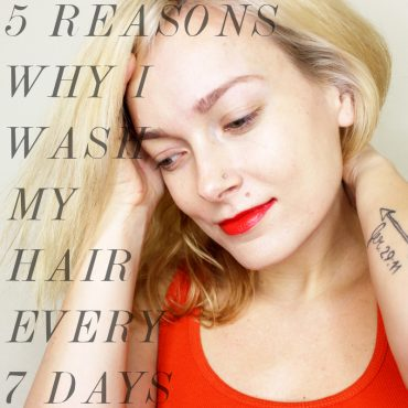how to not wash your hair ever day