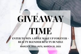 beauty bundle giveaway