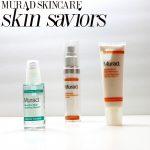3 Murad Skin Care Skin Saviors