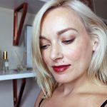 Cranberry and Gold Fall Makeup Looks