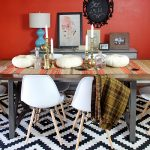 Fall Tablescape: Tribal and Mid-Century Inspired