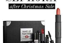 Sephora after Christmas sale