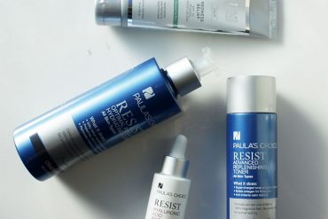 paulas choice anti-aging skincare routine for the morning