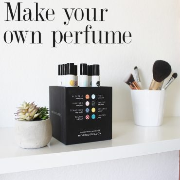 make your own perfume with mixologie