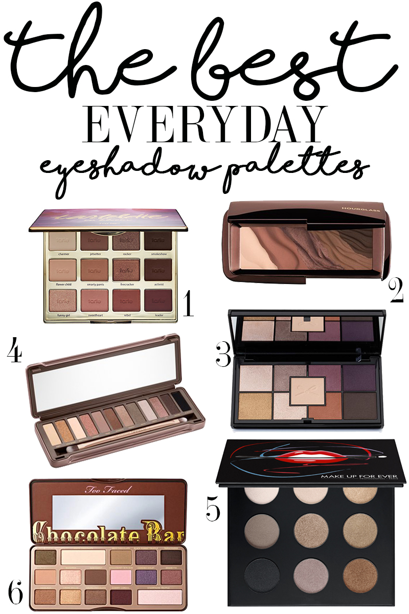 Makeup Palettes: The Best Everyday Eyeshadow Palettes