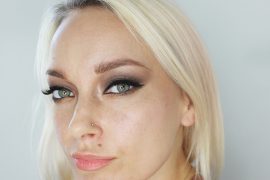smoldering brown eye makeup tutorial for fall!