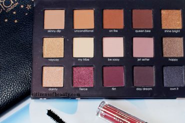 Chloe Morello and Ciate London Holiday Makeup Set swatches, look, review