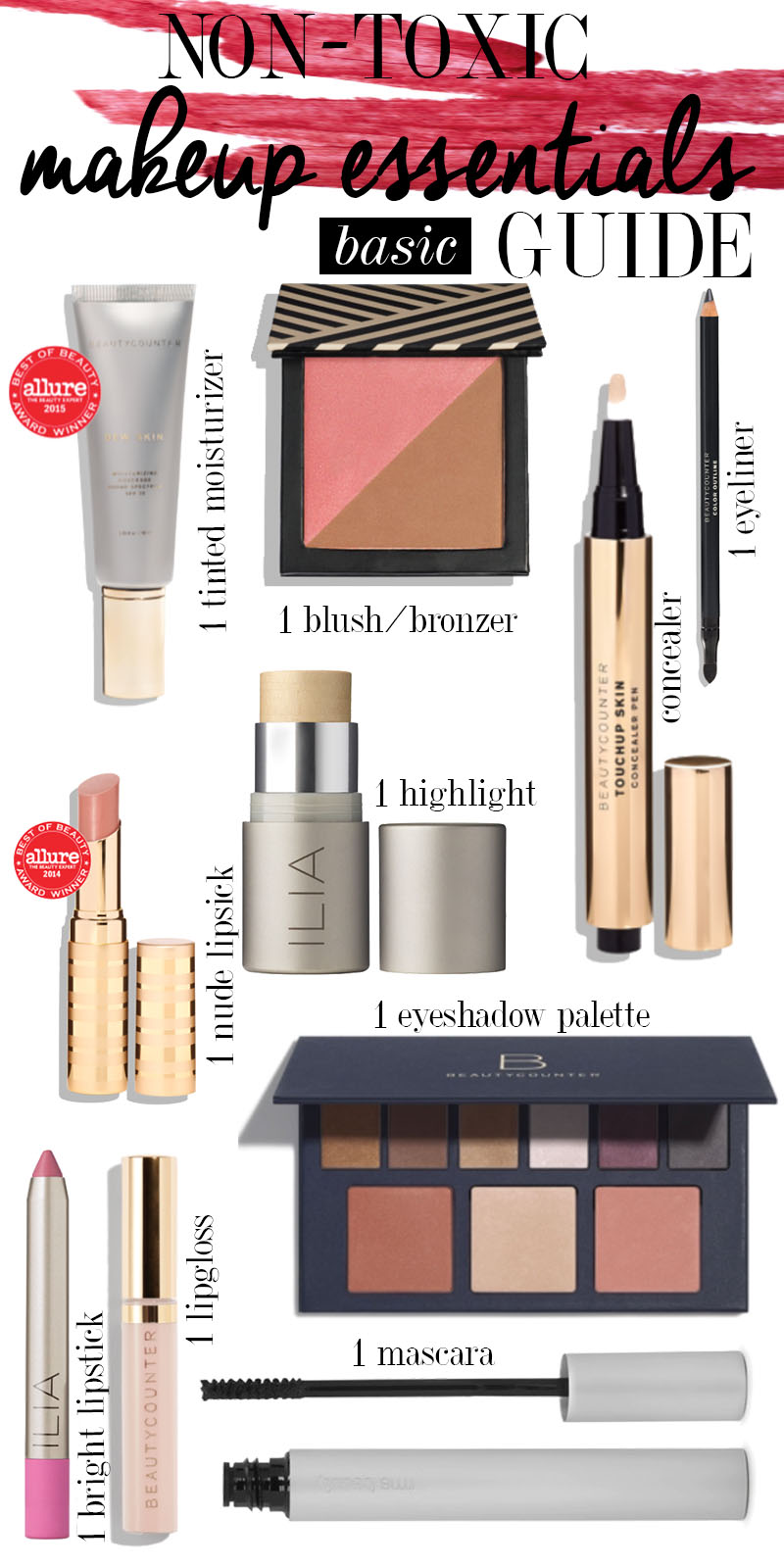 Makeup Essentials Must Haves From Makeup Artists Part 1: Ultimate Non-Toxic Makeup Essentials Beauty Guide
