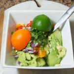 Whole 30 Snack Zesty Guacamole Recipe