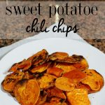 Whole 30 Chili Sweet Potato Chip Recipe and GIVEAWAY
