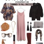 25 Transitional Summer to Fall Dresses