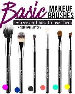 Here are 8 makeup brush essentials that you need in your makeup bag!