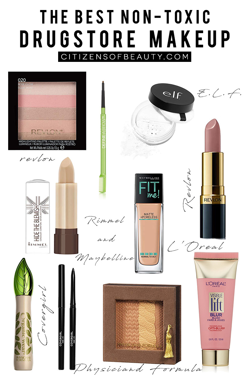 Cosmetics And Makeup: Best Non-Toxic Drugstore Cosmetics Guide