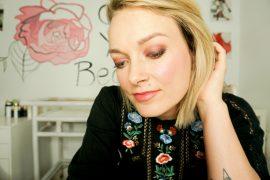 Urban Decay Backtalk Makeup Palette basic makeup look