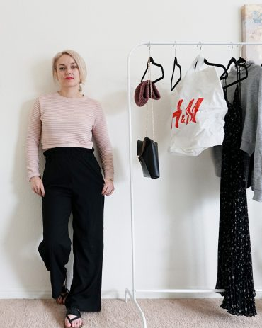 H&M Spring March shopping haul and outfit inspiration with beauty and lifestyle blogger, Kendra Stanton