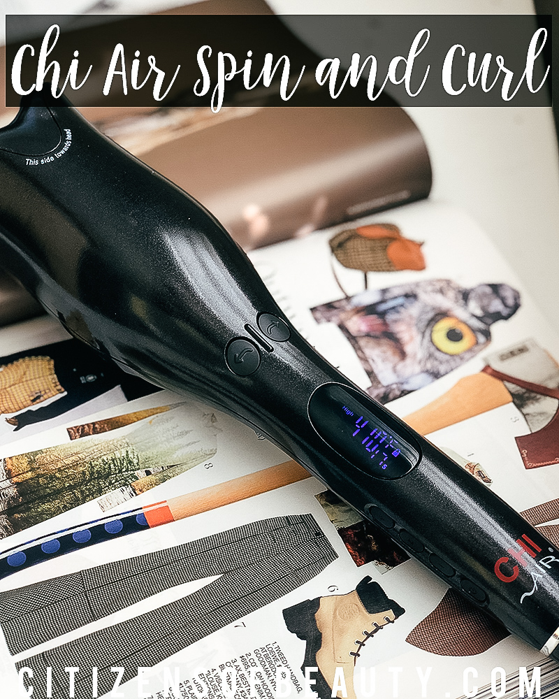 Chi Air Spin N Curl Review And Tutorial Citizens Of Beauty