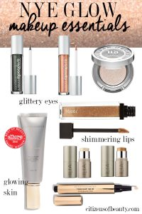 All of your glowing skin makeup essentials for NYE! Ring Ii the new year this New Years Eve with that holiday glow.