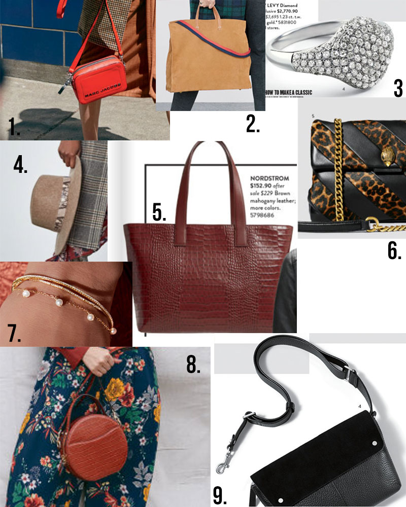 Nordstrom anniversary sale accessories and handbag purse options for 2019!