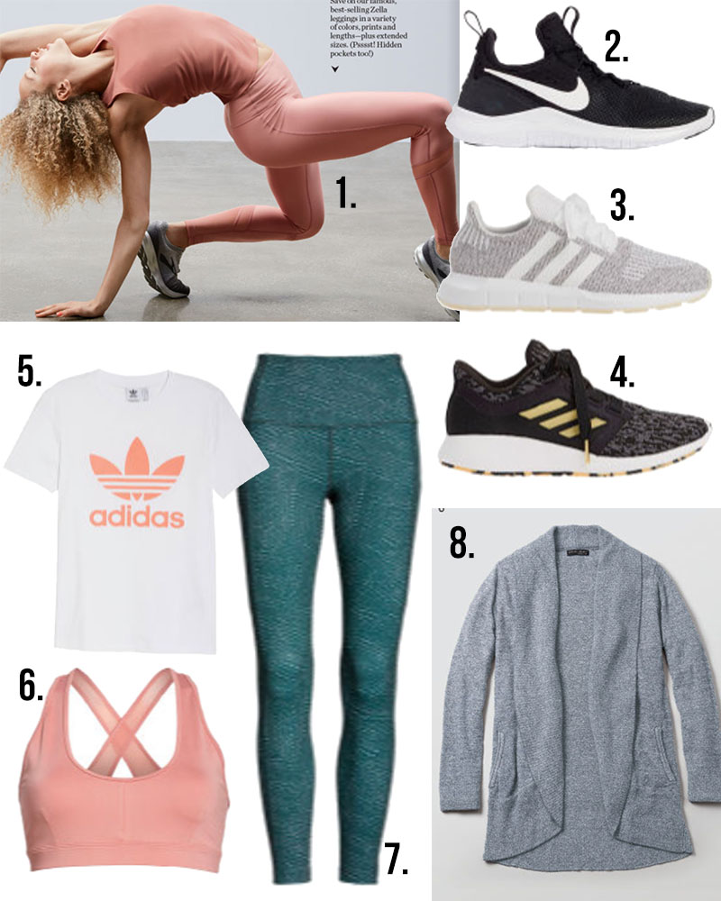 On sale at Nordstrom half yearly sale Zella, sweaty Beaty, Adidas, nike and more! Here are my catalog picks!
