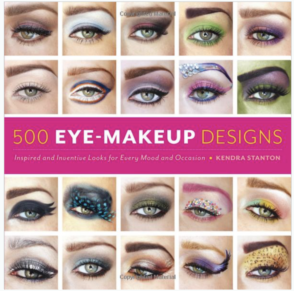 500 EYE MAKEUP DESIGNS BY BEAUTY AND LIFESTYLE BLOGGER, Kendra Stanton
