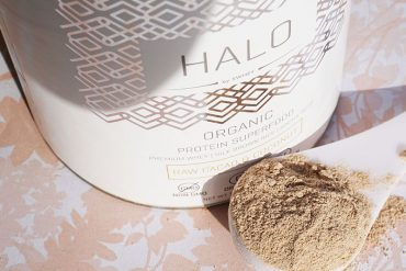 Swhey Halo Organic Protein Powder for healthy skin