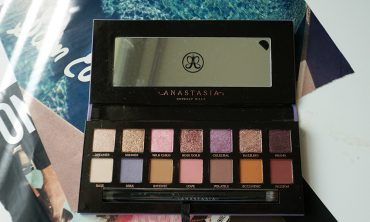 anastasia norvina palette review and swatches and look
