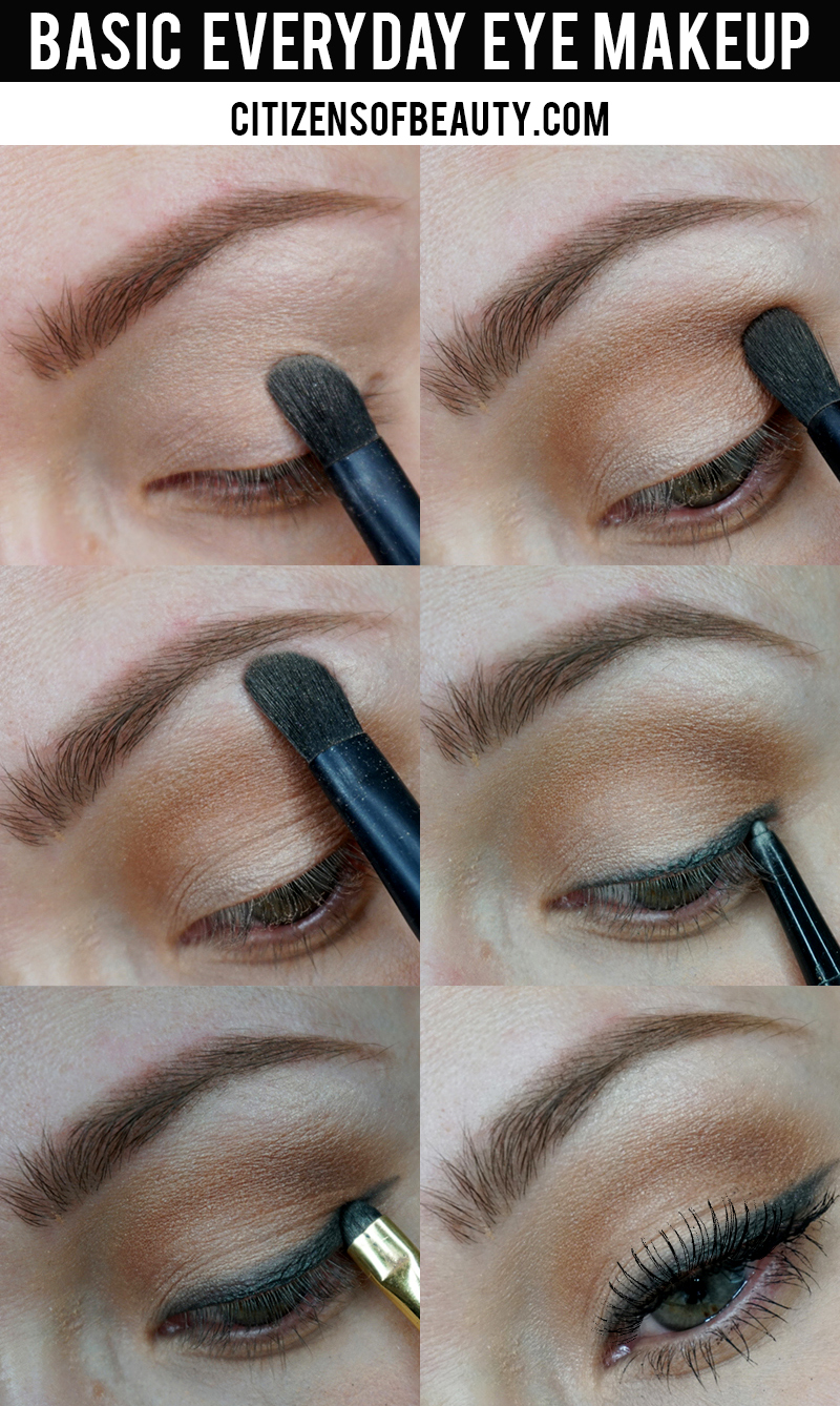 Basic Everyday Eye Makeup