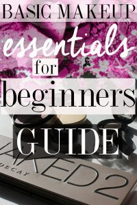 Here are the basic makeup essentials for beginners that you need to get you started on your makeup journey!