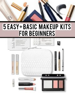 Here are 5 basic makeup essential kits that are already made for you!