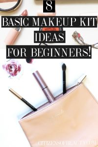 Here are some basic makeup kit ideas for beginning makeup lovers! Get simple essentials for you kit!