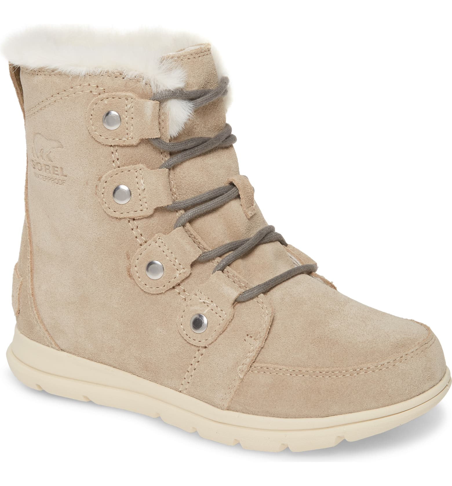 Sorel boots make some seriously cozy options for fall weather like these Joan Waterproof Boots.