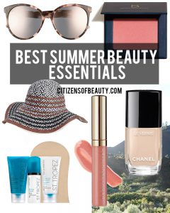 Here are you must-have summer beauty essentials that you need to keep yourself gorgeous through the warm months!