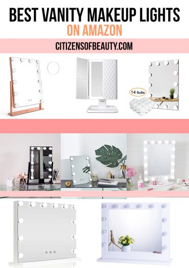 Perfect your makeup with the best vanity makeup lights on amazon for your beauty room with beauty and lifestyle blogger, Kendra Stanton.