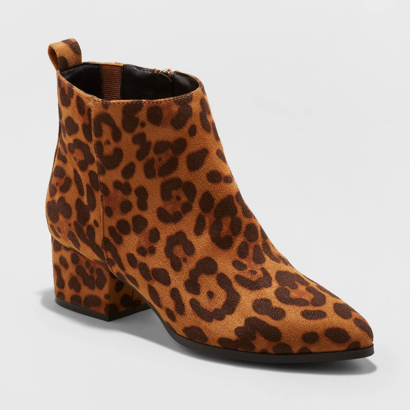 Leopard print booties are on-trend for popular fall boots 2019!