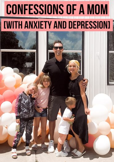 Here is my confessions as a mom with anxiety and depression. The honest truth about what I deal with and what Im afraid my kids will see. What I hope they remember about me.