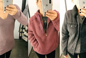 cozy sweaters, jackets, and cardigans at Old Navy