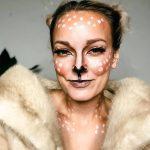Deer Makeup Look for Halloween