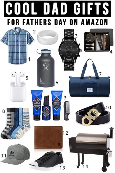 Cool dad gifts for fathers day that he will absolutely love found on Amazon prime with beauty and lifestyle blogger, Kendra Stanton.