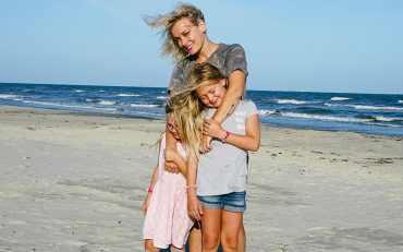 Galveston. TX beach family vacation withe kids before school starts