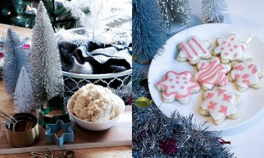 holiday christmas sugar cookies