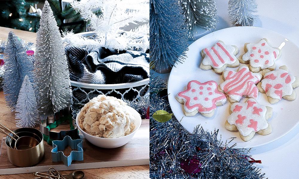 holiday christmas sugar cookies