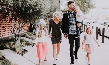 holiday family photos and what we wore
