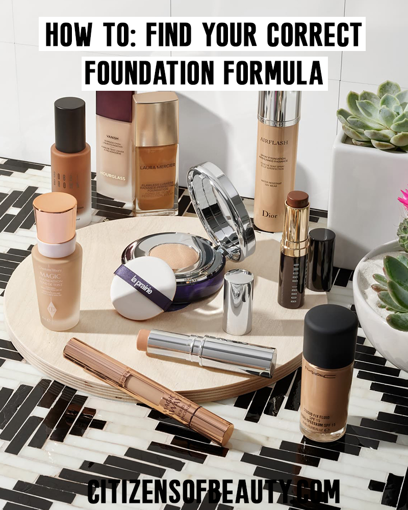 Here is how to find your foundation type and what you should be using with your skin type! Check out these basic makeup tips with beauty and lifestyle blogger, Kendra Stanton.