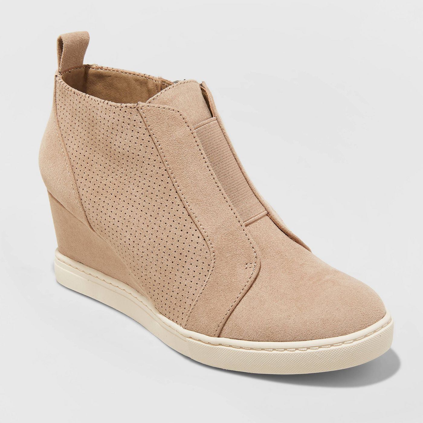 Microsuede sneaker boots for Fall 2019 are gorgeous and on-trend for the season.
