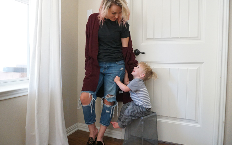 Why my husband hates my boyfriend jeans from Topshop